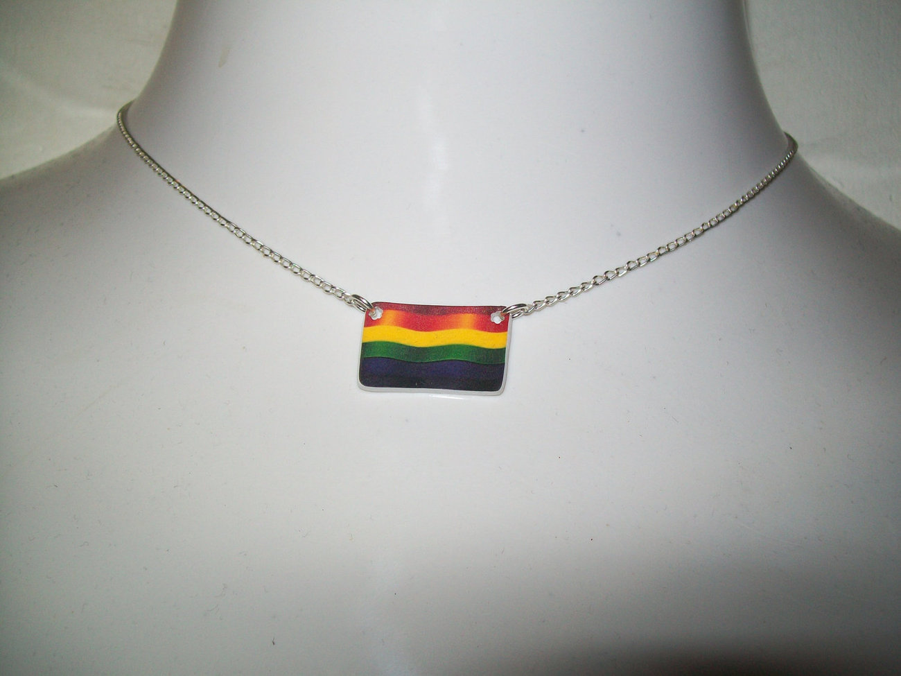 Pride Flag Necklace