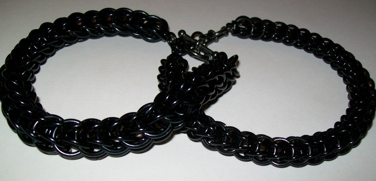Men or Ladies Full Persion Chainmaille Bracelet