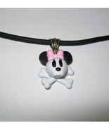 Mickey or Minnie Skull and Bones Necklace - $0.00