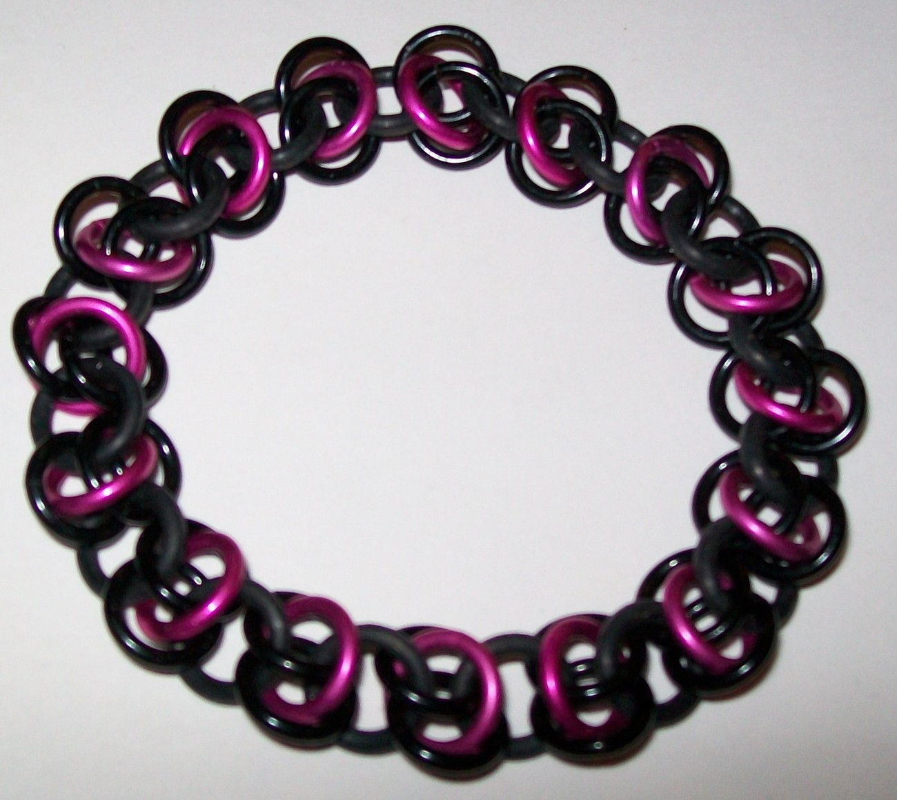 Floating Rings Strecth Chainmaille Bracelet