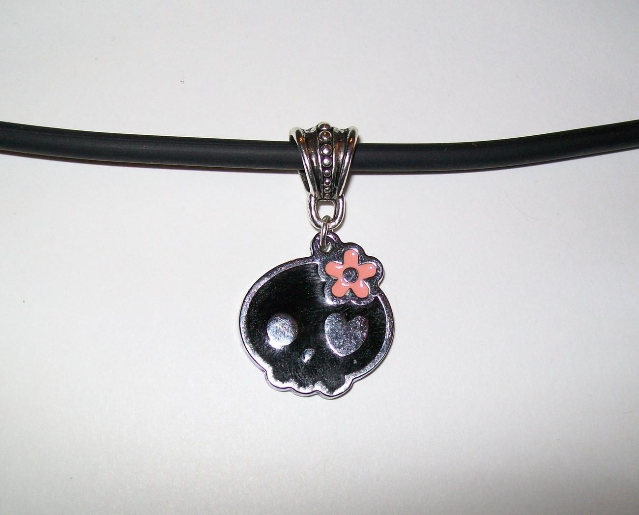 Sugar Skull Necklace or Earrings