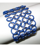 Chainmaille Wrist Band Bracelet - $15.00
