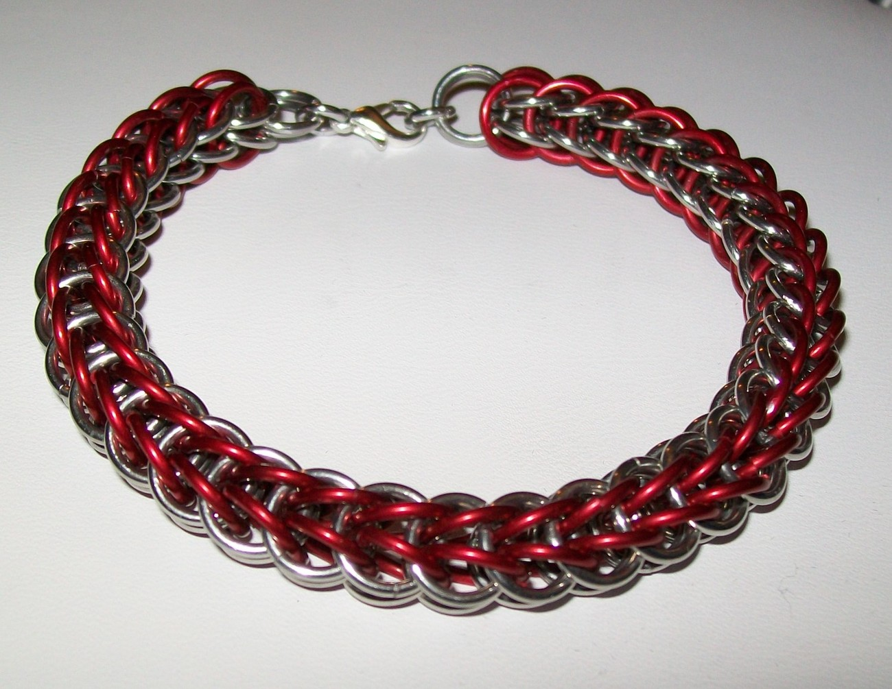 Colored Full Persian Chainmaille Bracelet