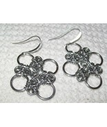 Chinese Chainmaille Earrings - $12.00