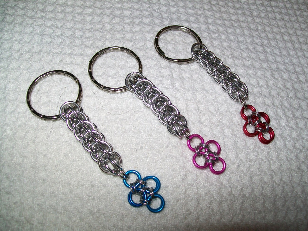 Full Persian Chainmaille Keychain