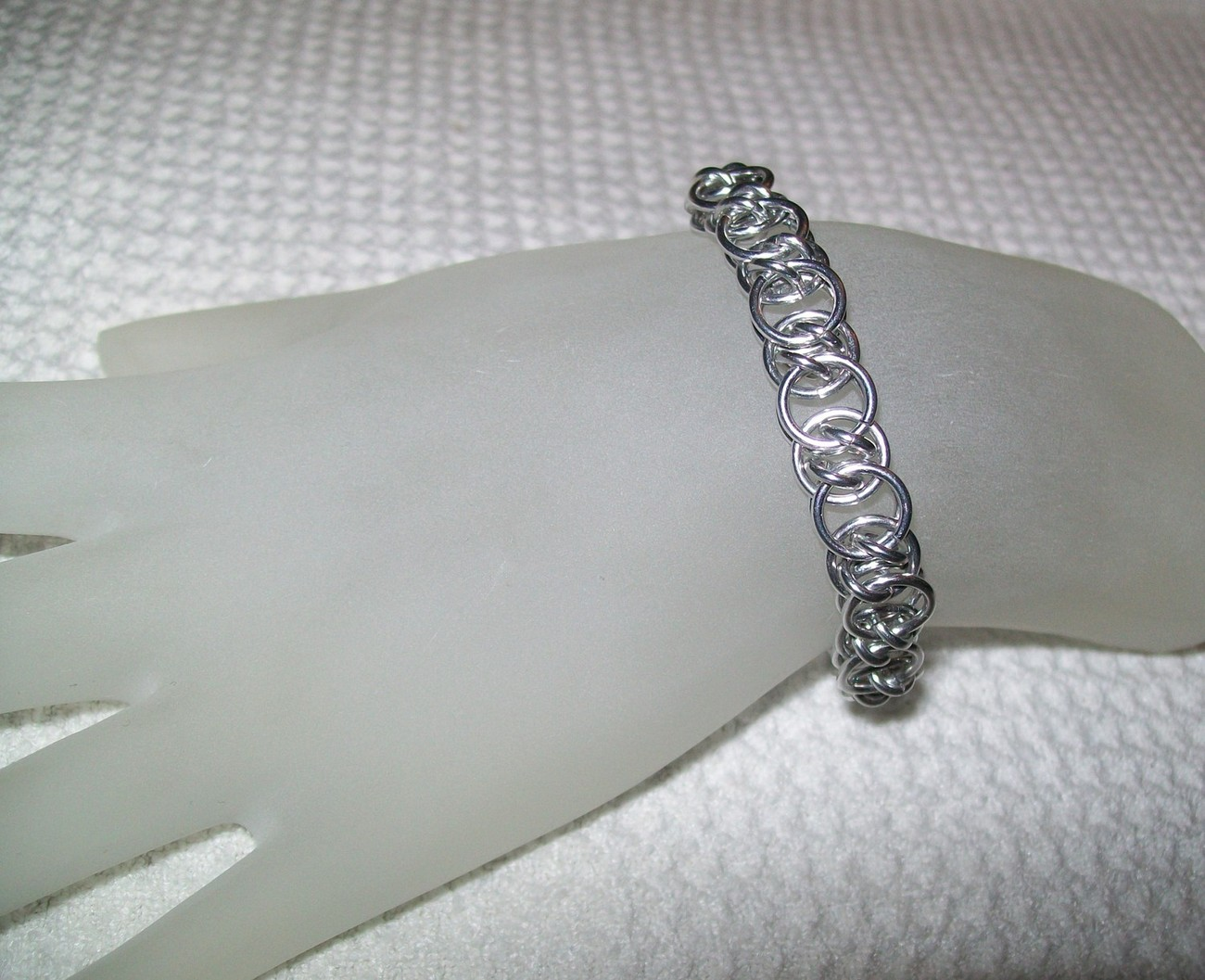 Double Helm Chainmaille Bracelet