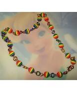 Rainbow Bracelet or Anklet - $15.00
