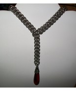 Full Persian Chainmaille Tie Necklace - $50.00