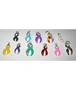 Ribbon Awareness Earrings - $10.00