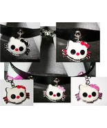 Hello Kitty Skull Necklace or Earrings - $15.00
