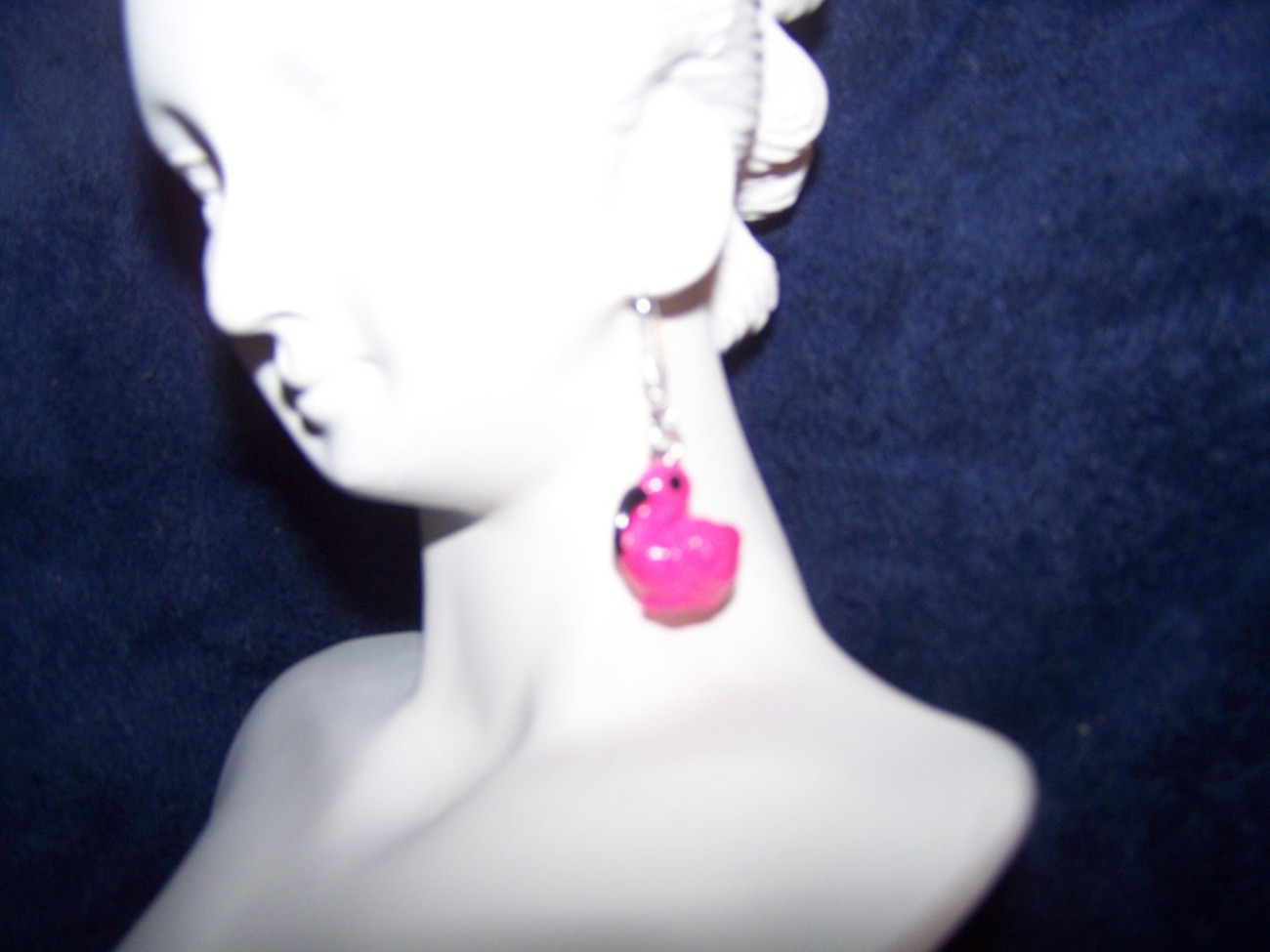 Pink Flamingo Earrings (Choose between two)
