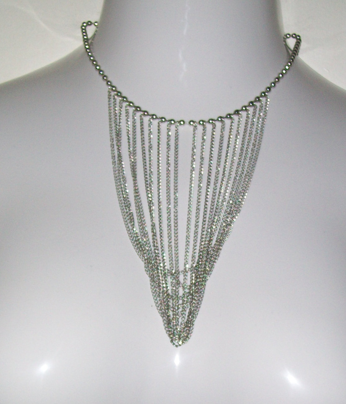 Draped Chainmaille Necklace