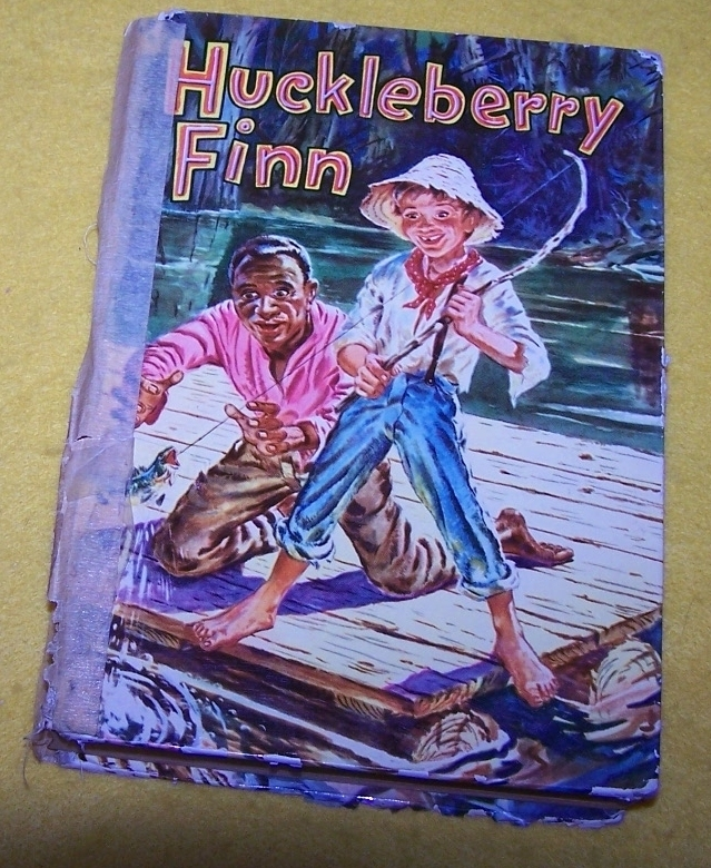 Vintage Huckleberry Finn Book