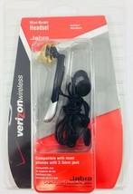 Jabra Ear Hook Wired Mini Boom Headset Verizon Wireless 2.5mm jack micro... - $11.29