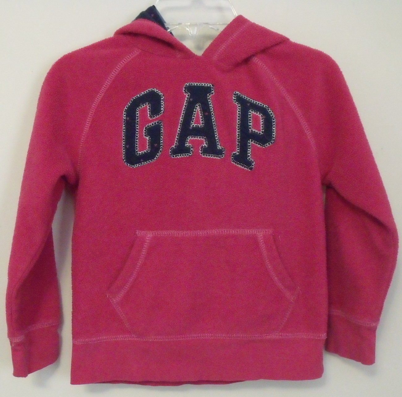 Girls Gap Girl Deep Pink Fleece Long Sleeve and similar items