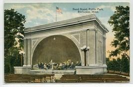 Band Stand Public Park Rochester Minnesota 1917 postcard - $6.39