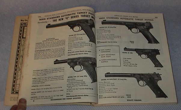 Catalog Stoeger Arms Ammunition Shooter's Bible 1950 no 41