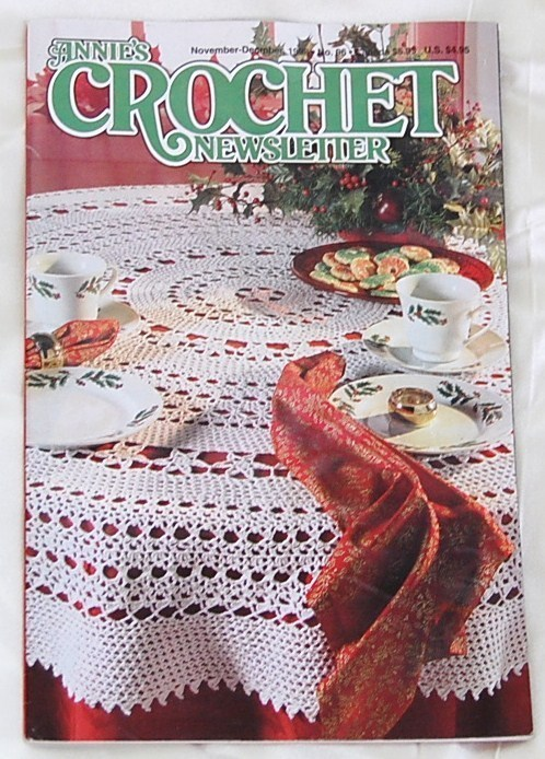 Annie's Crochet Newsletter November- December  1998  No. 96