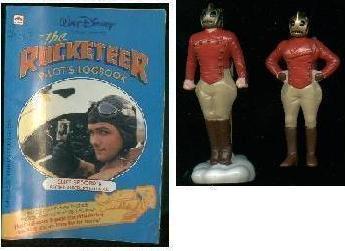 Walt Disney ROCKETEER puzzle / figure / book / soundtrack
