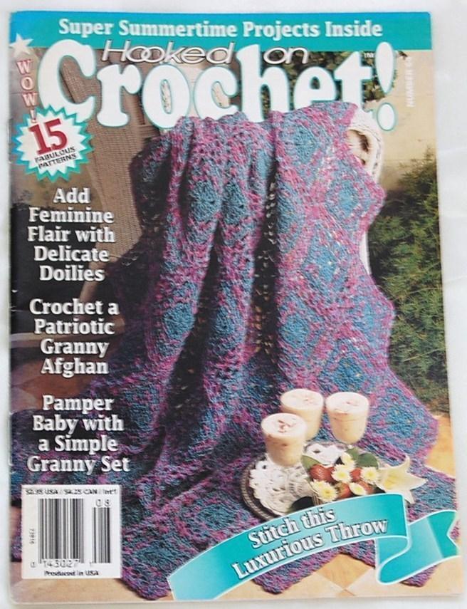 Hooked on Crochet Magazine July - Aug. 1997 No. 64