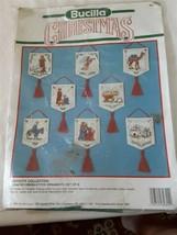 Bucilla Christmas Nativity Collection Kit 8 Ornaments - $28.60