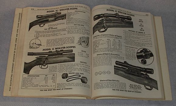 Catalog Stoeger Arms Ammunition Shooter's Bible 1953 no. 44