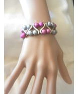 NeW Ladies  Charming  Beads Stretch Wave Powder Dust Beads  Bracelet  - $4.99