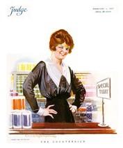 Judge Magazine Prints: The Counter Sign - Robinson -  Feb 3 1917 - $12.82+