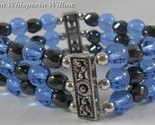 Magnetic hematite sapphire bracelet 1 thumb155 crop
