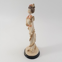 Marlo Collection by Artmark Victorian Lady Figurine in Frilly Dress image 2