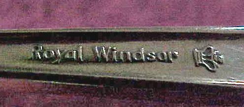 STERLING SUGAR SPOON - TOWLE - ROYAL WINDSOR