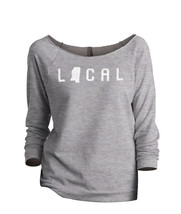 Thread Tank Local Mississippi State Women's Slouchy 3/4 Sleeves Raglan S... - $24.99+