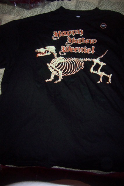 Happy hallow weenie shirt  426x640
