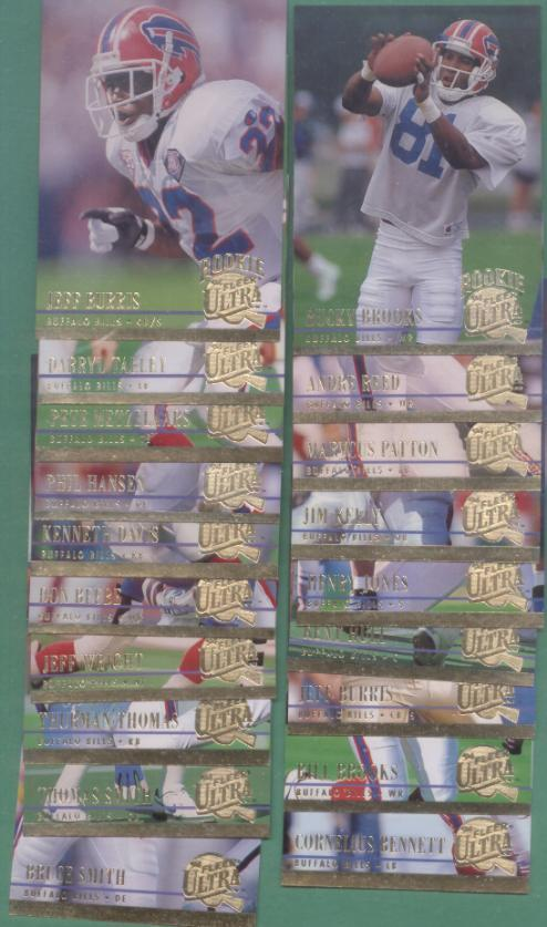 1994 Fleer Ultra Buffalo Bills Football Team Set