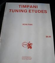 Timpani Tuning Etudes - Fink - $5.99