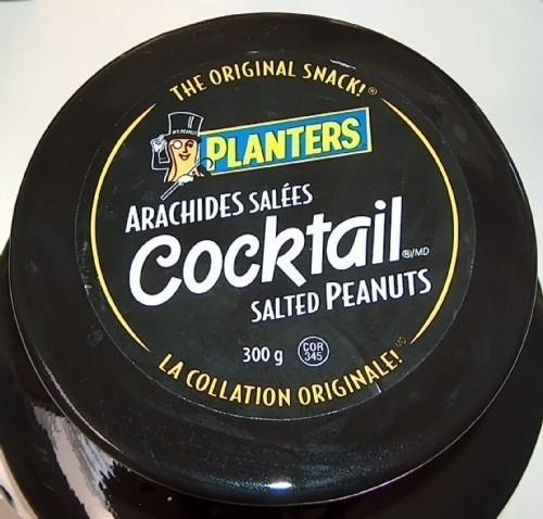 Planters Mr Peanut Head Ceramic Cookie Jar