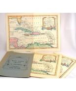 Victoria Cruise Ship Menues 1969 West Indies Map Art Prints - $12.00