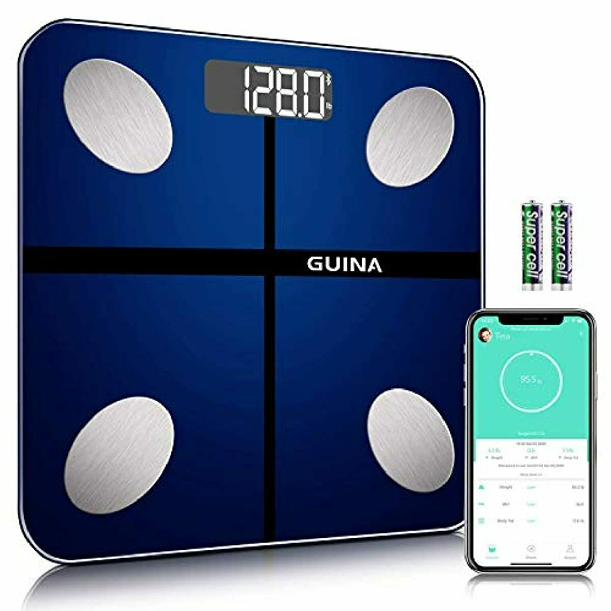 Body Fat Scale Bluetooth Digital, Bathroom Scale with BMI, Weight Scale - $42.77