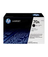HP Q7570A (HP 70A) Black Original Laser Toner Cartridge in Retail Packaging - $257.78