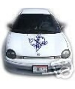 TRIBAL SKULL HOOD KIT DECAL CAR TRUCK GRAPHIC TRAILER - $30.00