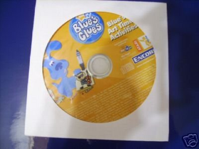 BLUES CLUES ART TIME ACTIVITIES NEW CD WIN