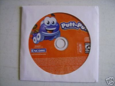 PUTT PUTT KIDS LEARNING PC CD NEW WINDOWS