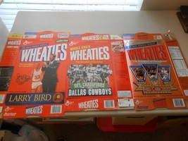 Lot of 14 Wheaties & Other Cereal Athlete Empty Folded Cereal Boxes - $49.50