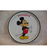 Disneyland Mickey Mouse Drink Serving Tray Vintage Souvenir Collectible - $9.99