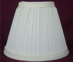 New IVORY Pleated Mini Chandelier Lamp Shade - $8.00