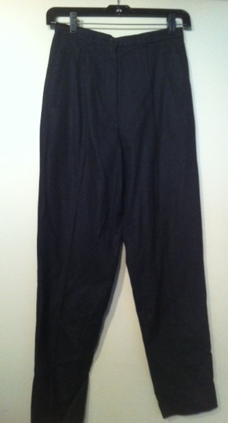 J. crew dark charcoal grey wool pants 2p nwot