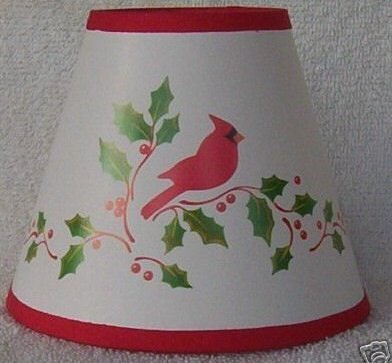 New CARDINAL Mini Paper Chandelier Lamp Shade