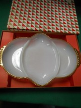 "NIB- Great OVEN FIRE KING Serving Divided Dish..11"" x 7"" - $9.49"