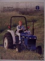 1998 New Holland 1720, 1920, 2120, 3415 Tractors Brochure