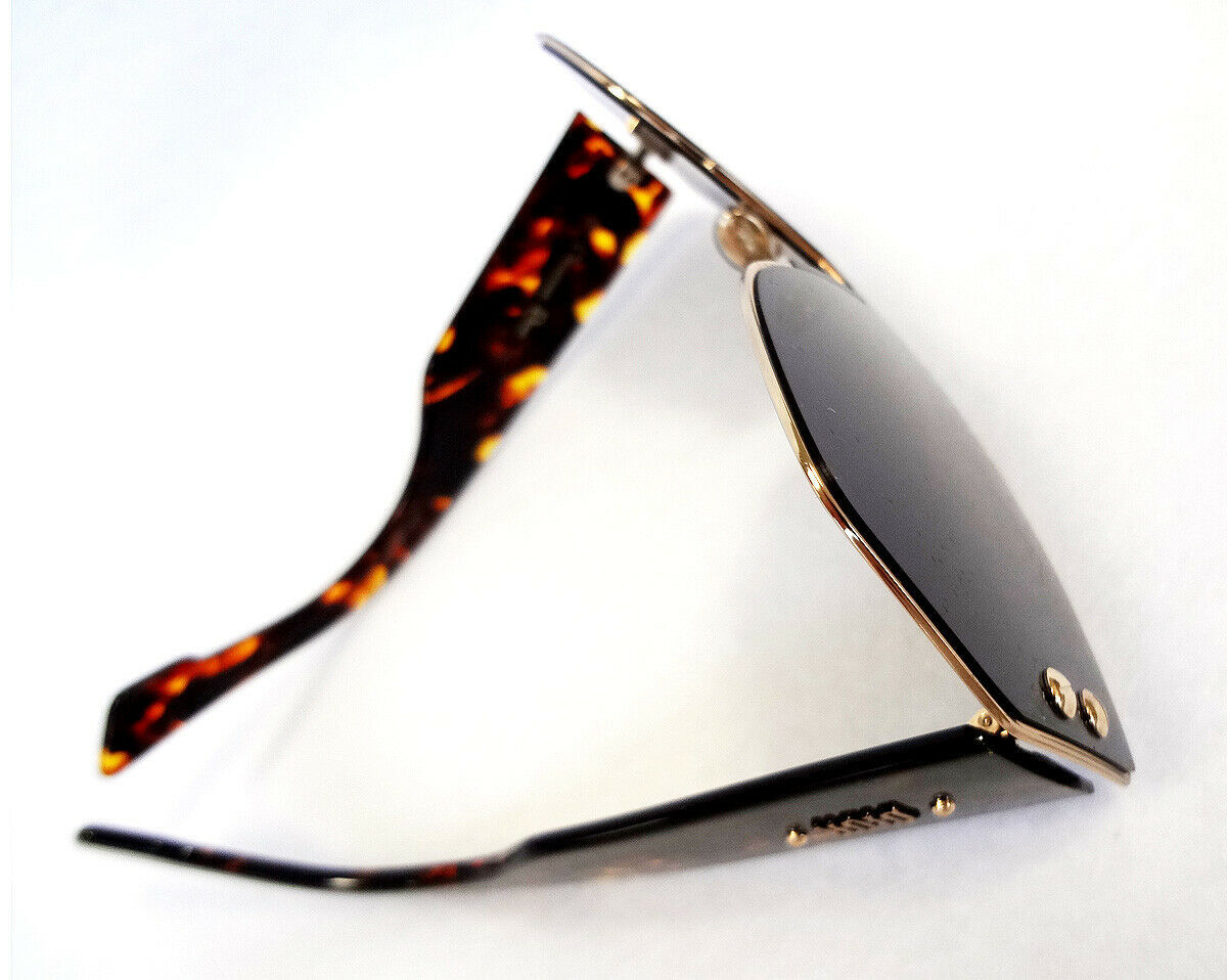 Dior Women's Sunglasses DIORADDICT1 000A9 Rose Gold Havana 150 MADE IN ITALY-New